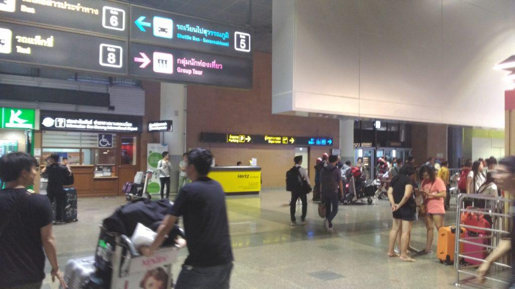 エアーアジア、スクートのLCCが離着陸するタイ・ドンムアン空港